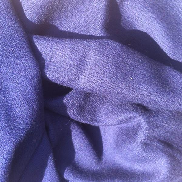 Cashmere Stola dunkelblau