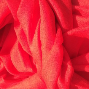 Cashmere Stola rot