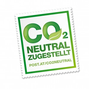 CO2 neutraler Versand mit der Post