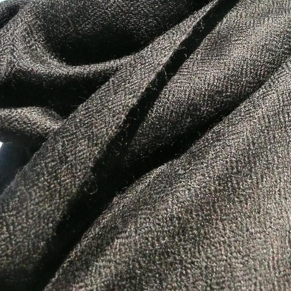 Cashmere Stola schwarz