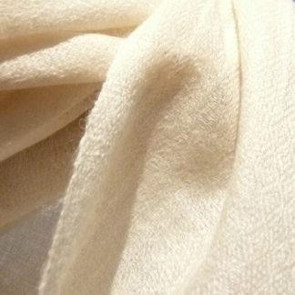 Cashmere Stola weiß