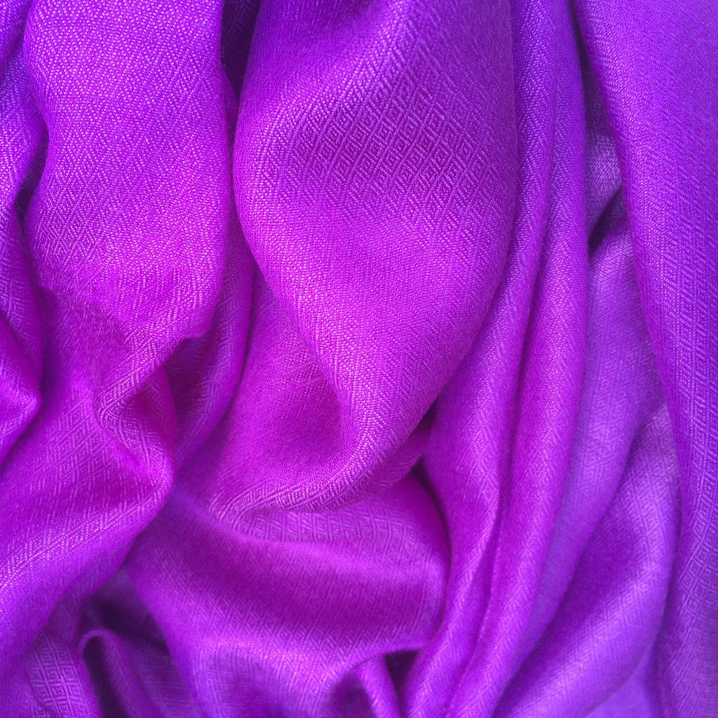 Seiden Stola violett