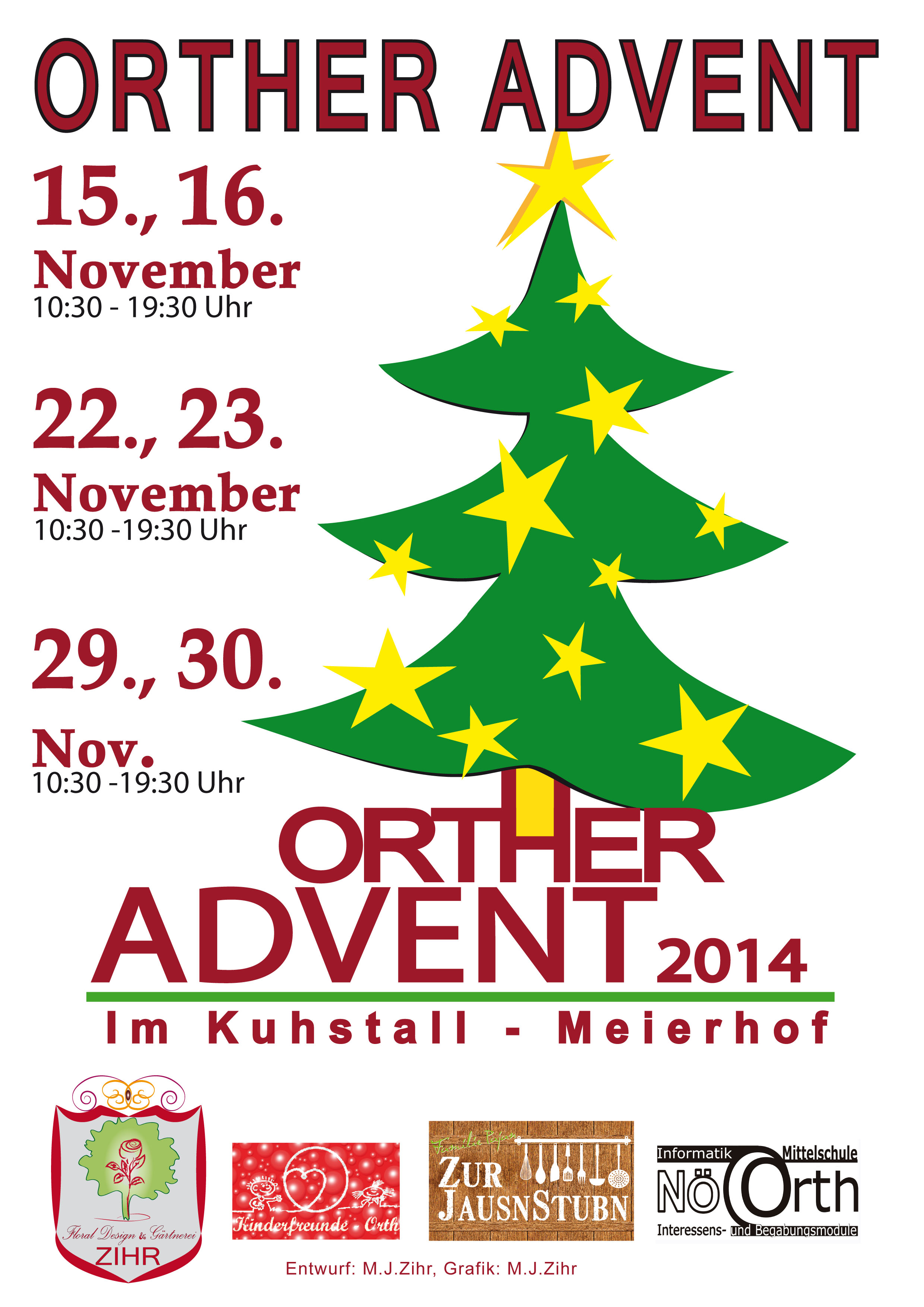 Plakat Orther Advent 2014
